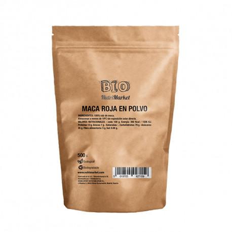 NUTRIMARKET MACA ROJA EN POLVO 500 G