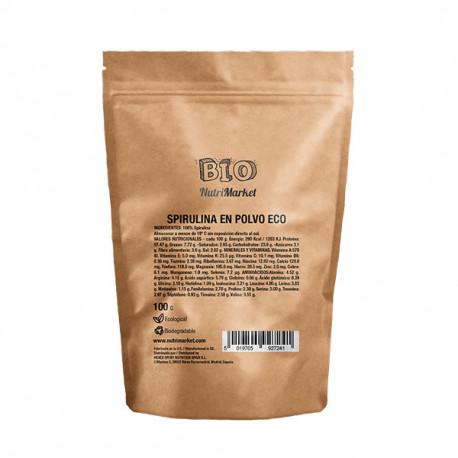 NUTRIMARKET BIO SPIRULINA 100 G