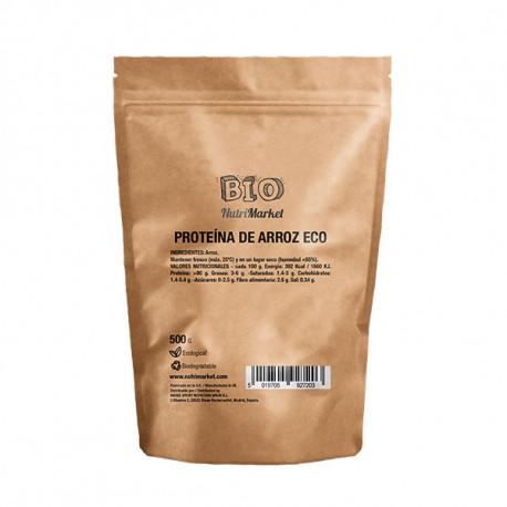 NUTRIMARKET BIO PROTEÍNA DE ARROZ 500 G