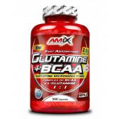 AMIX GLUTAMINE + BCAA 360 CAPS.