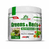 AMIX GREENDAY GREENS & REDS + 250 GR
