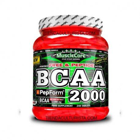 AMIX MUSCLECORE BCAA 2000 240 tabs.