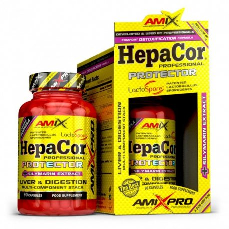 AMIX PRO SERIES HEPACOR PROTECTOR 90 CAPS.