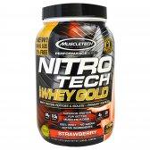MUSCLETECH NITRO TECH 100% GOLD 2.5 LBS.